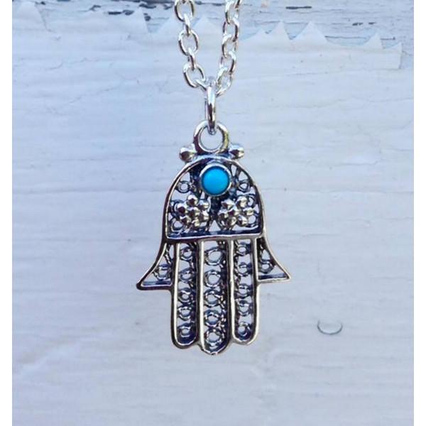 hamsa / hand of Fatima pendant