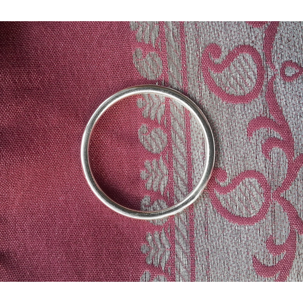 plain 925 sterling silver ring band
