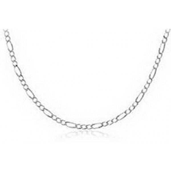 scfg50 Sterling silver figaro style chain